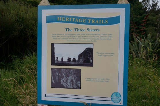Trail head for the Three Sisters
