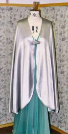 classic silver cloak