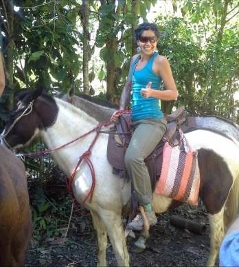 Horse-trek Sunday, Kylie is Ready