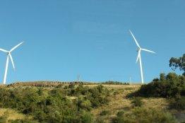 Wind Turbines outside Lisbon