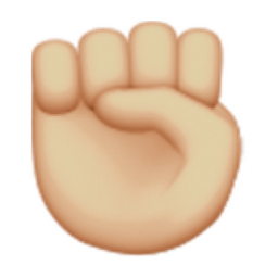 light-brown-raised-fist