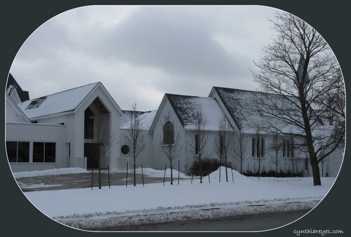 Photo Church Exterior in Winter 3