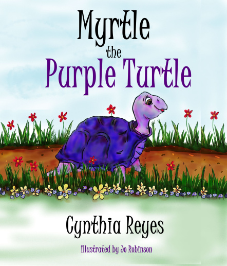 Myrtle the Purple Turtle by Cynthia Reyes #loveyourshell