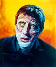 Basil Gogos Curse of Frankenstein Lee