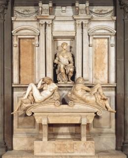 Tomb of Giuliano de' Medici, 1524-33