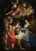 "Peter Paul Rubens, ""Adoration of the Shepherds"" (1608)"