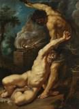"""Peter Paul Rubens, """"Cain Slaying Abel"""" (1608-09)"""