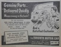 I'm a big fan of old car-related ads.
