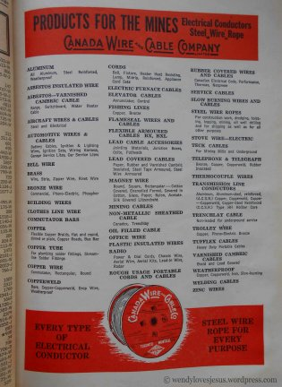 Canadian Wire & Cable Co. Ad.