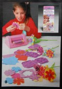 """Ooo, I loved this """"Fantastic Flowers"""" set! """"Makes 12 scented flowers. Easy to use; children just run paper through the flower press, add a stem, pistil, scented plug, and they have a pretty flower."""" Refills sold separately, of course."""
