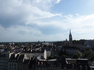 View from Ducal Château