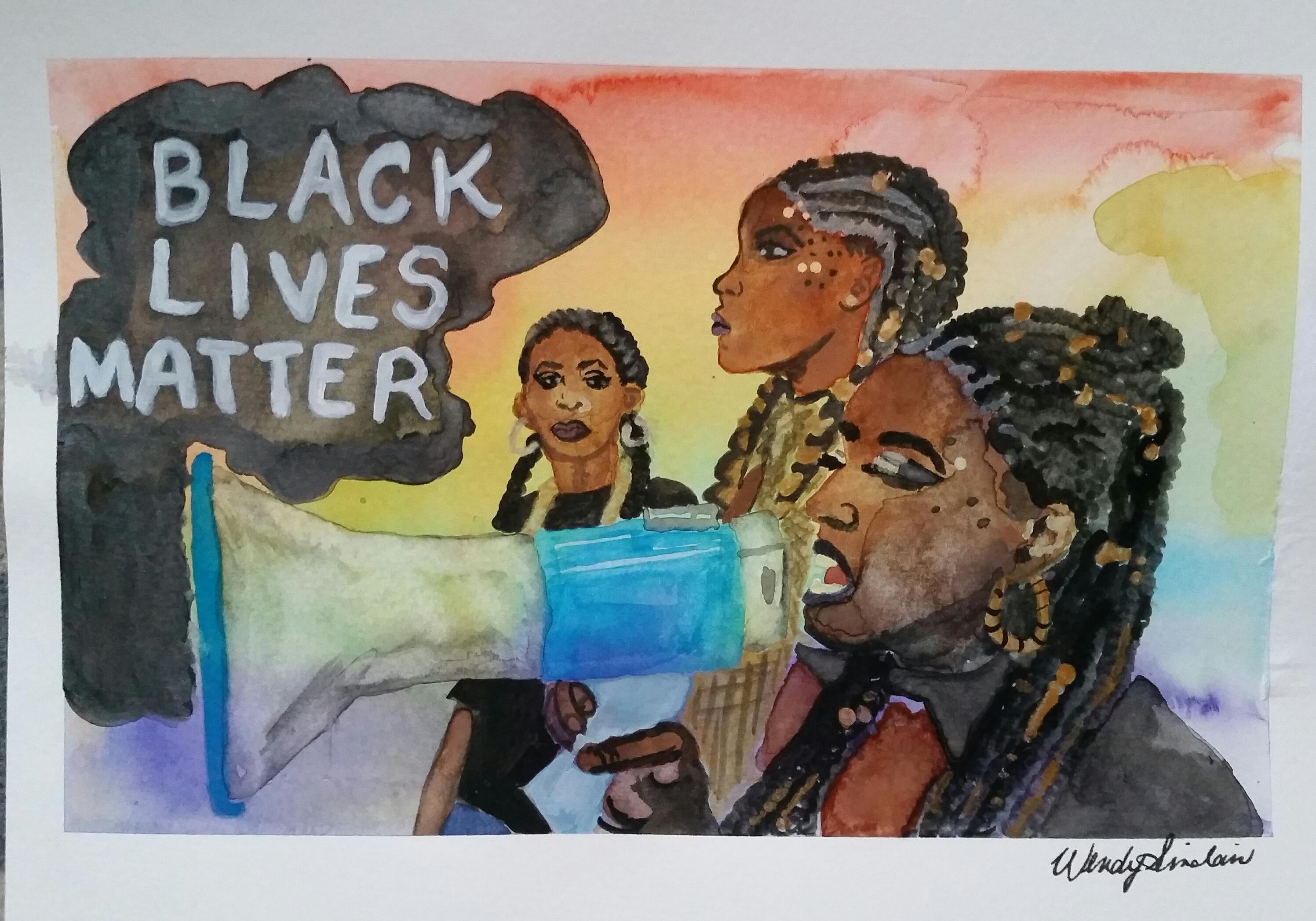 Black Lives Matter at Pride Toronto