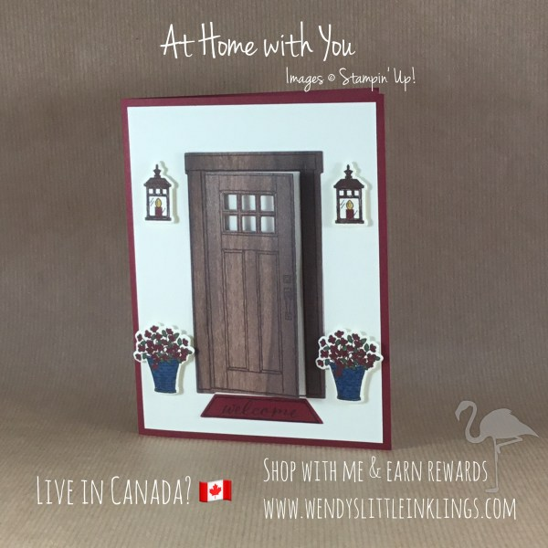 At Home with You birthday card