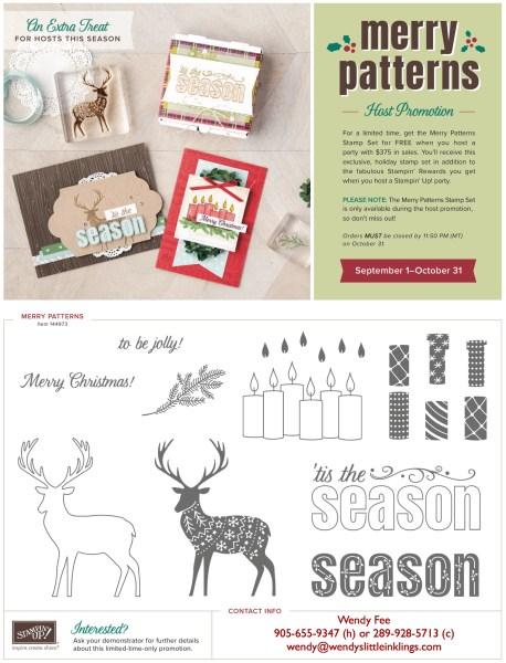 Wendy's Little Inklings: Merry Patterns