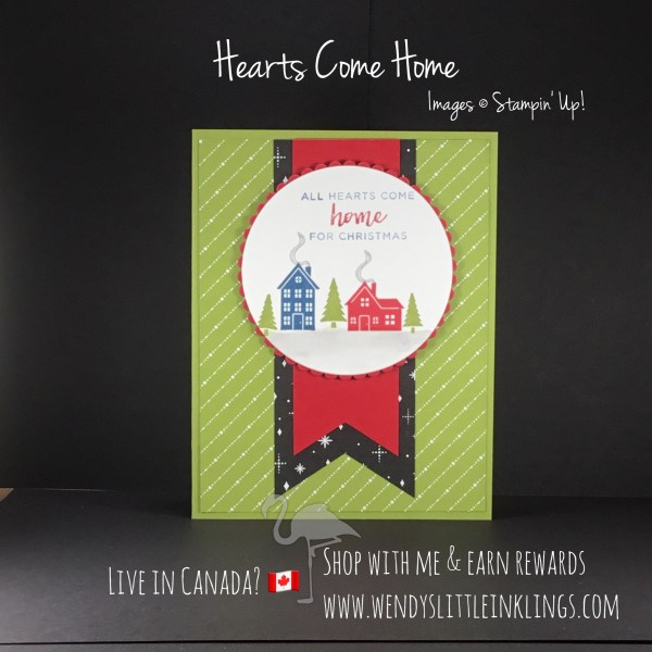 Wendy's Little Inklings: Hearts Come Home card