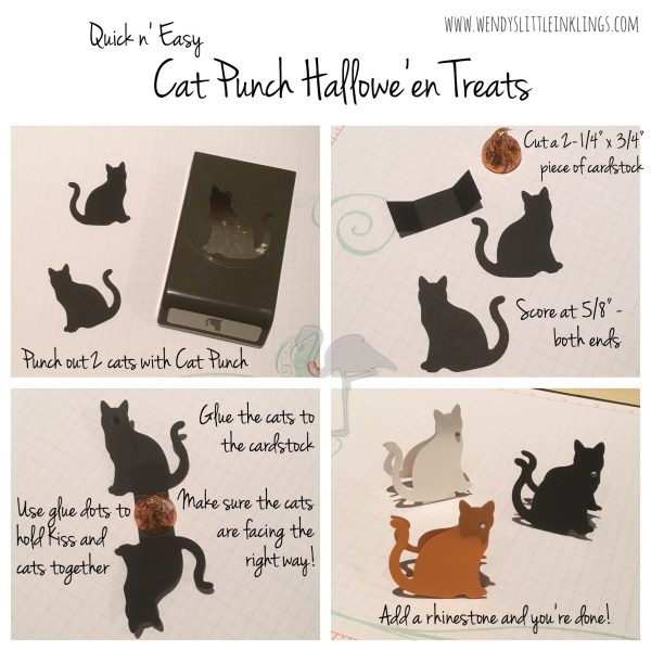 Wendy's Little Inklings: Hallowe'en Treats made with the Cat Punch