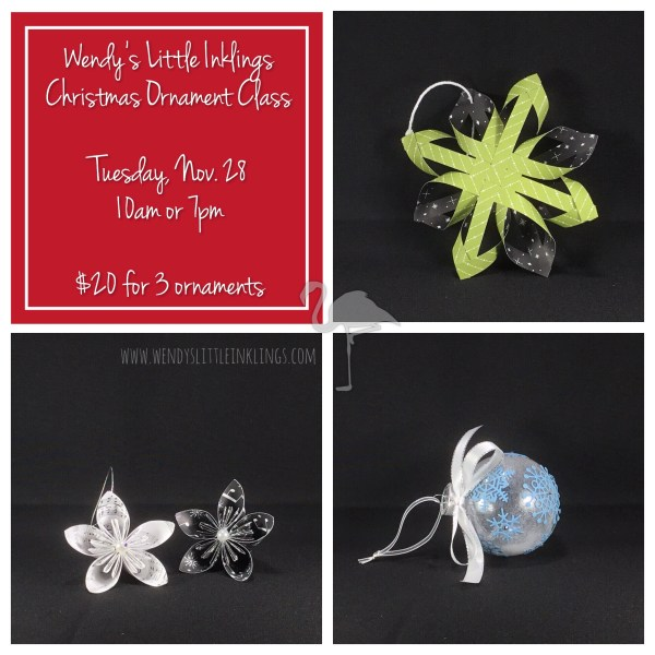 Wendy's Little Inklings: Christmas Ornament