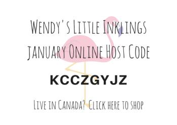 Wendy's Little Inklings: January Host Code