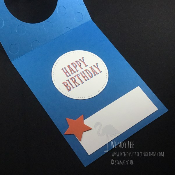 Wendy's Little Inklings: Birthday Wit Star Card