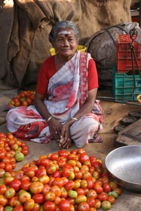 The tomato lady