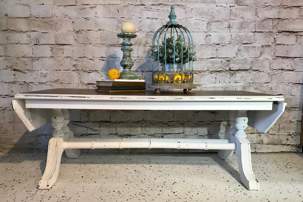 Vintage Stained Coffee Table