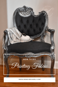 Painting Furniture Fabric