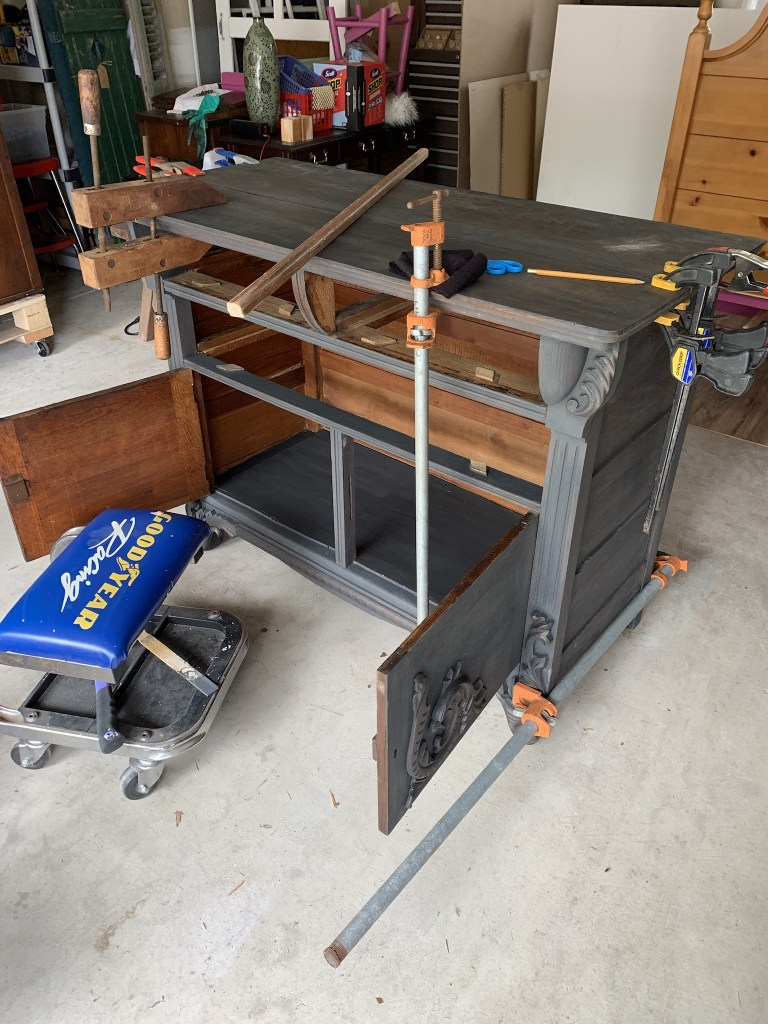 Fixing Oak Dresser