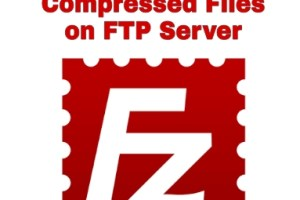How to Unzip Compressed files on FTP Server