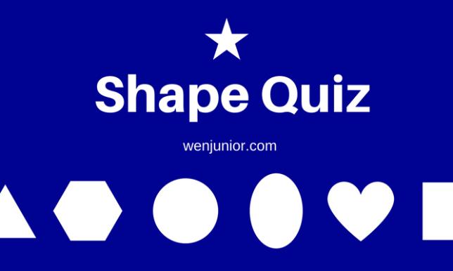 shape quiz