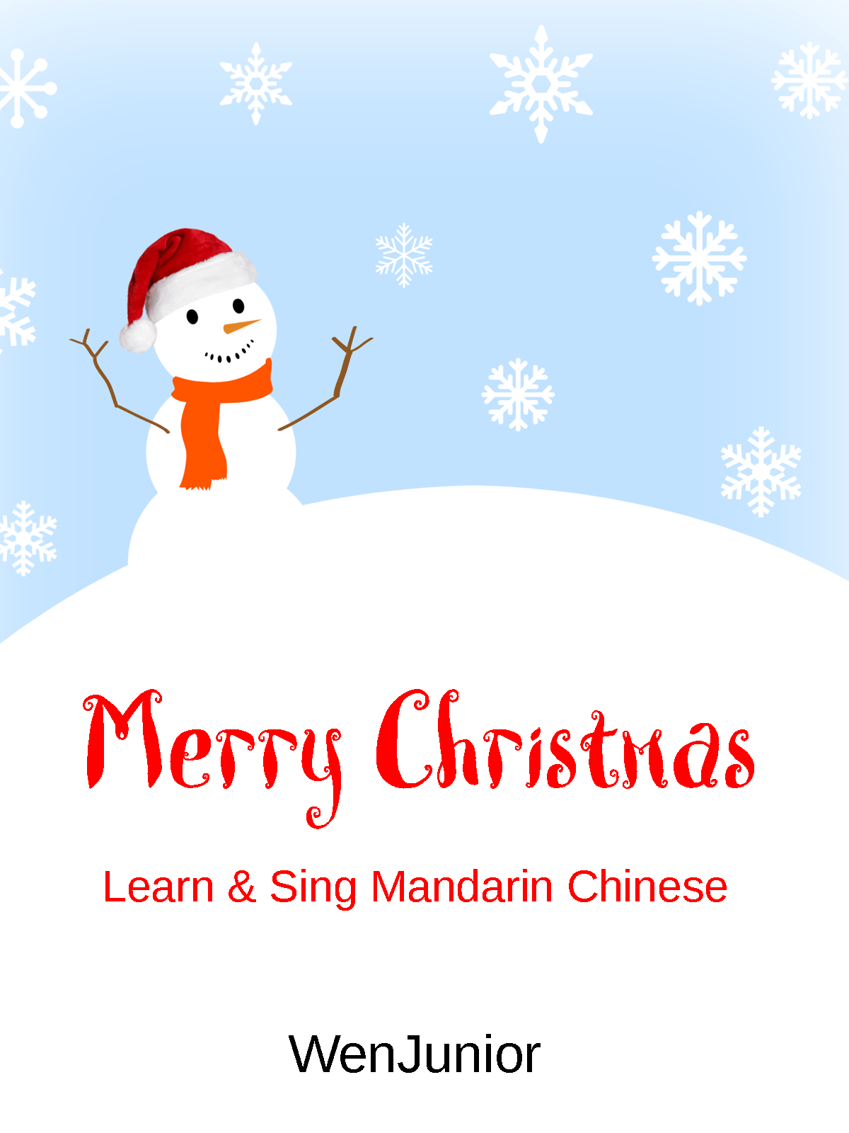 video merry christmas learn and sing mandarin chinese