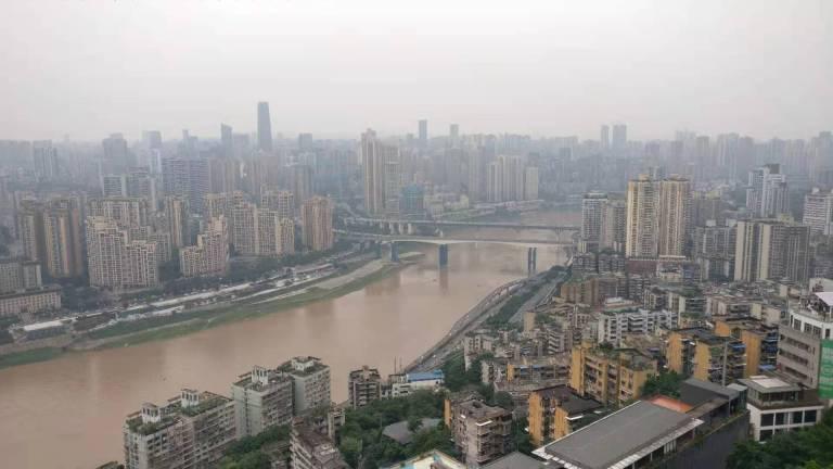Jialiang river Chongqing