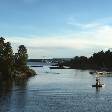 Abschied von Oslo.
