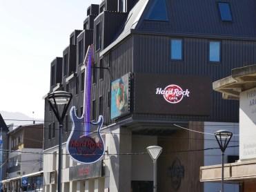Das südlichste Hard Rock Cafe der Welt.