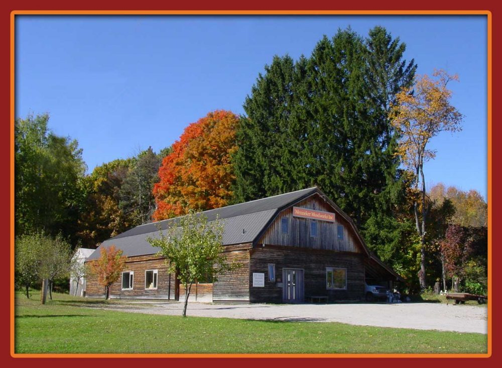 Wenneker Woodworks workshop, 9000 County Road 93Midland, ON