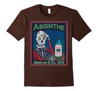 Los Muertos Absinthe Vintage Amazon Brown
