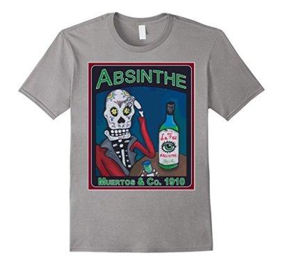 Los Muertos Absinthe Vintage Amazon Slate
