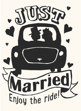 Bruiloft kaartje
