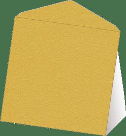 Gouden wenskaart enveloppen