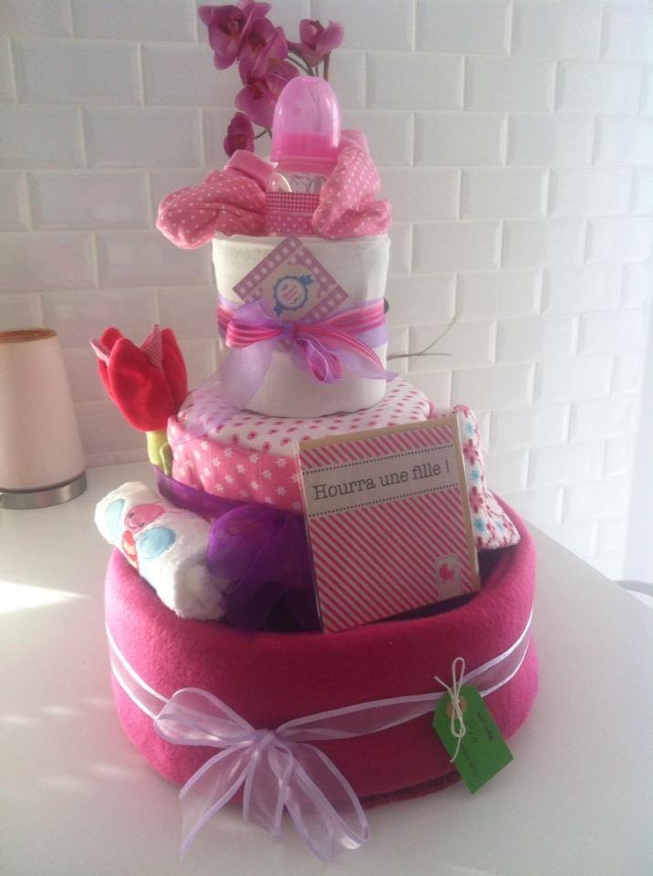 Diaper Cake Ou Gteau De Couches Wenten Evnementiel Runion