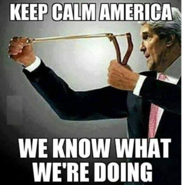 Keep calm America!