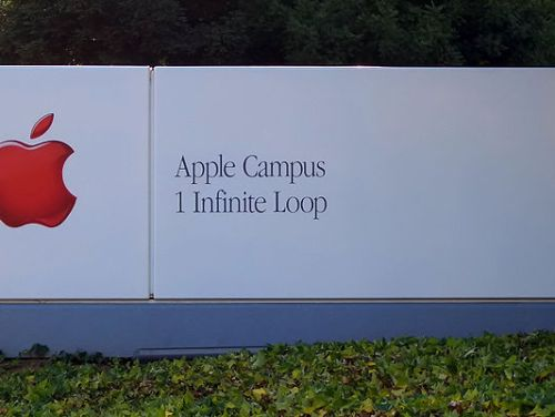 Apple Inc. headquarters sign