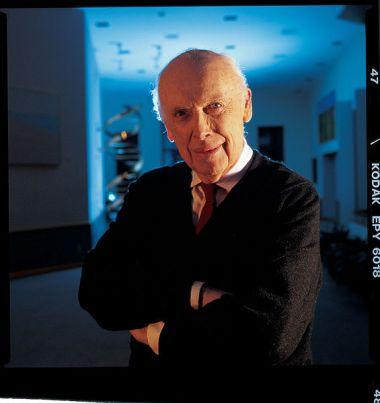 Nobel laureate Dr. James D. Watson, Chancellor, Cold Spring Harbor Laboratory.