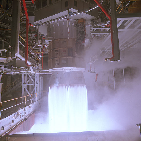 NASA engineers successfully tested a Russian-built rocket engine on November 4, 1998 at the Marshall Space Flight Center