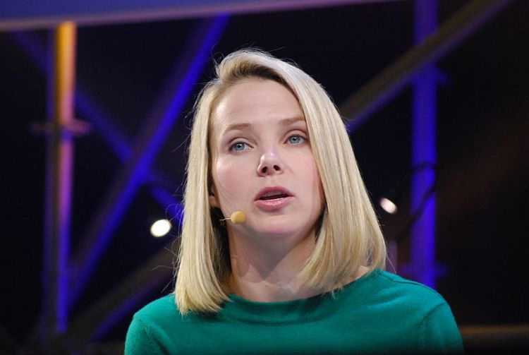 Marissa Mayer at an interview while working for Google, 2011