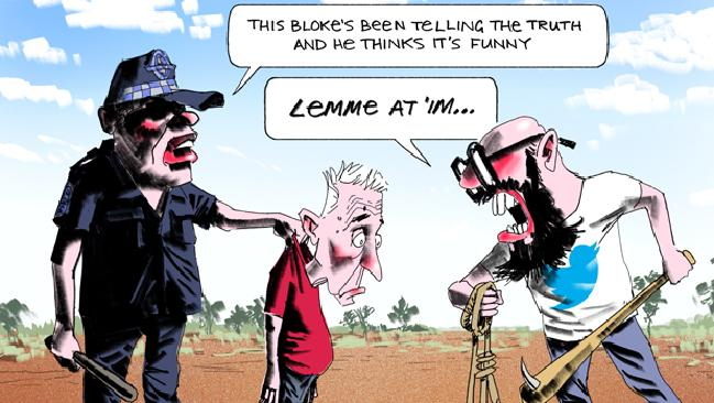 Bill Leak cartoon PC comment