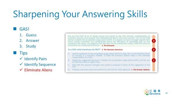 Sharpening Your Answering Skills