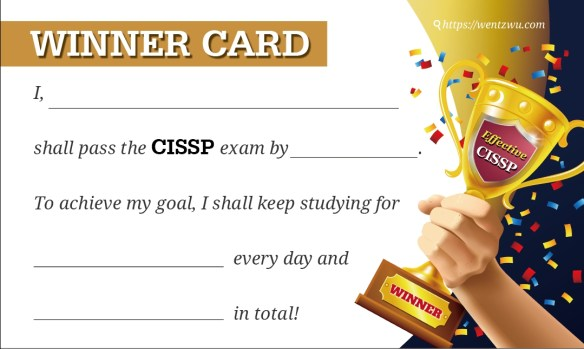 Winner Card
