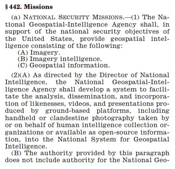 NGA Missions 442