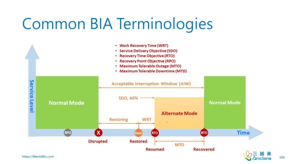 Common BIA Terminologies