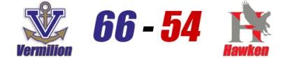 Vermilion Hawken score